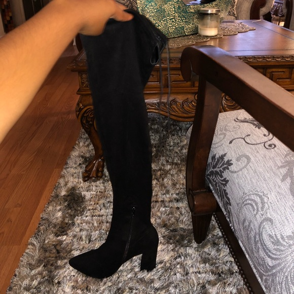 """c36f9ea6a89 ASOS Shoes - ASOS """"Karma"""" Wide Fit Over Knee Boots"""